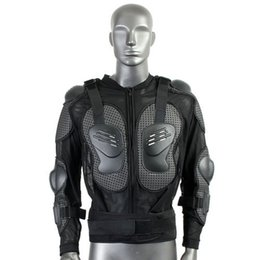 Wholesale Motorcycle Armor Protection - Unisex Adult Motorcycle Body Armor Garment Guard Jacket Chest Protection Gear Black