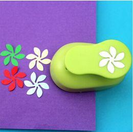 Wholesale Wave Punch - Wholesale- 2.0-2.5CM Wave Flower Shape EVA foam craft punch paper cutter for greeting card Scrapbooking Handmade puncher Furador Scrapbook