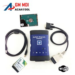 Wholesale Mdi Software - 2016 New arrival Diagnostic tool for GM MDI scanner for gm mdi wifi with hdd software High Quality DHL Free Shipping