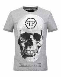Wholesale The original German brand PP T shirt was cotton white shirts and men s top bone designer t shirts