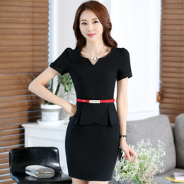Wholesale Business Suit Women Fashion - Hot Selling New Style Slim Fit Polyester Spandex Multicolor S-4XL Business Fashion Short Sleeve Women's Suits & Blazers for Summer