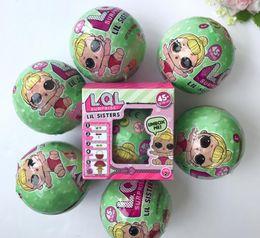 Wholesale Dolls Action - Kawaii Action Figure LOL Dolls Baby Tear Open Color Change Boneca lol dolls lol Vinyl Model Girl Toys For Kids