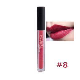 matte red lip Promo Codes - Wholesale- 11 Colors Makeup Nude Liquid Matte Lipsticks Long Lasting Waterproof Pencil Lip Gloss Charming Nude Red Lips
