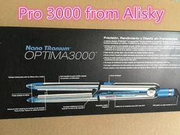 Wholesale Blue Iron - Hot Selling Bab-liss PRO Optima Hair Straightener Straightening Irons Flat Iron from alisky