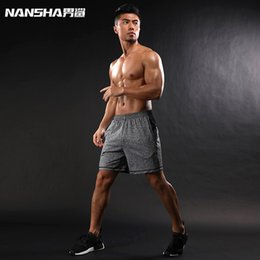 Wholesale Tights Comfortable - New Brand Hot Sale Men Compression Shorts Men Breathable Comfortable Tights Men Sporting Quick Dry Shorts Black and Gray XXL