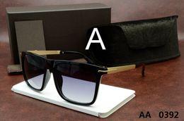 Wholesale Polarized Sport Sunglasses For Men - luxury top qualtiy New Fashion 0392 Tom Sunglasses For Man Woman Erika Eyewear ford Designer Brand Sun Glasses with original box tom