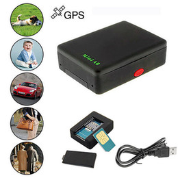 Wholesale Gsm Gprs Tracking Devices - A8 Mini Global Locator Realtime Vehicle Bike Car GSM GPRS GPS Tracker Tracking system device