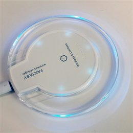 Wholesale Iphone Structure - Wireless Chargers Smartphone qi Standard Elegant design High quality acrylic structure High Charging Efficiency For pad iphone Samsung