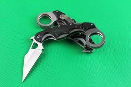 Oferta especial 0138 karambit faca garra dobrável faca de lâmina de acampamento ao ar livre caminhadas faca de sobrevivência facas novo na caixa original cheap new camp survival knife de Fornecedores de faca de sobrevivência novo acampamento