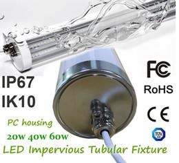Wholesale House Station - 20W 40W 60W LED Impervious Tubular Fixture PC Housing IK10 IP67 High Resistance to Vibration,Corrosion Durable,Maintainable Luminaire
