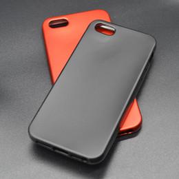 Wholesale Trends Mobile Phone Case - iphone 5 5s China Red silicone anti fall matte metal shell shell mobile phone new trend