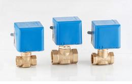 solenóide plástico de água Desconto Preço de atacado 2Ways 220 V DN15 1/2 '' Globel Válvula Elétrica