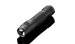Wholesale Cr123a Torch - JETBeam EC-R26 Cree XP-L LED 1080 Lumens Outdoor Camping Hunting Searching Flashlight Electric Torch Black With CR123A and 18650 Bettery