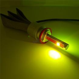 Wholesale Bmw E92 Light Kit - 2pc X WIFI LED Marker Light E92 H8 , Wireless RGB 40W KIT for BMW E60 E61 E90 E92 E70 E71 E82 E89