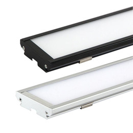 Wholesale Thinnest Ceiling Light - Dust-proof Led ceiling lights 25W 4ft 120cm 2000Lm AC85-265V Warm Cool White Ultra thin rectangle panel light batten tube surface mounted