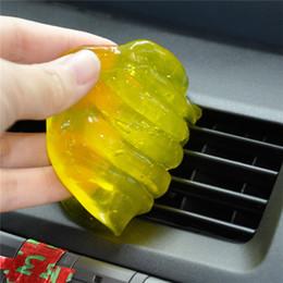 Argentina Limpiador de teclado Removedor de polvo de gel de gelatina flexible para computadora PC Ordenador portátil Teclado Car Air Vent Home Use cheap car jelly Suministro