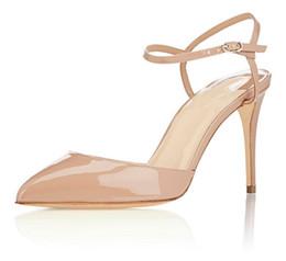 823535385cd9 Zandina Womens Ladies Fashion Handmade 10cm Slingback High Heel Sandals  Party Evening Dressing Stiletto Shoes Beige K371