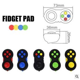 Wholesale Magic Pads Retail Packaging - 2017 Novelty Fidget Pad Second Generation Magic Fidget Cube Fidget Hand Shank Adults Kids Anxiety Decompression Toys with retail package