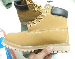 Wholesale Pony Brown - 2016 Martin Boots Fashion Classic 10061 Wheat Yellow TBL Boots Women Mens Retro Waterproof Outdoor Work Sports Shoes Casual Sneakers