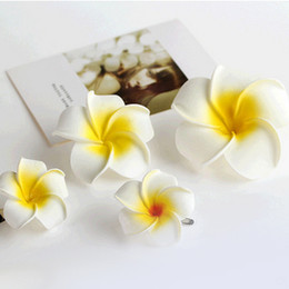 Wholesale First Gold - Seaside beach holiday bridal hair ornaments Korea flower bubble egg flower hairpin edge clip headdress wholesale first flower