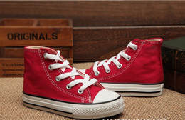 Wholesale Autumn Star Boy - Special brand kids canvas shoes fashion high - low Sneakers boys girls sports canvas shoes and sports star children shoes