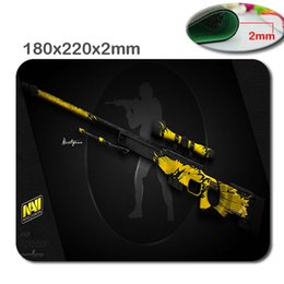 Wholesale Computer Pads - Selling csgo rubber game custom 180 x220x2mm mouse pad, mouse pad to decorate your desk and computer, to children as a gift