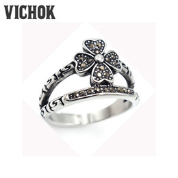 Wholesale Nose Rings Men - 316 L Stainless Steel ring Middle Metal Long Sharp Eagle's Nose Mask Finger Ring cheap fashion men rings 2017 Wholesale VICHOK