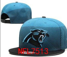 Wholesale Linen Boys Cap - Factory Price adults Panthers Adjustbale Caps Hats Snapback Cap Headware