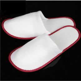Wholesale Wholesale Fashion Shoes For Women - Wholesale Price Mix Color Towelling Hotel Disposable Slippers Terry Spa Guest Shoes For Men And Women