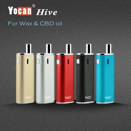 Wholesale Dry Herbs Wax - Yocan Wax Dry Herb Tank CBD Tank new products Magnet connector yocan hive cbd battery 650mah with cbd tank atomizer