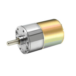 Wholesale 24v Geared Motor - 24V DC 500RPM 1000RPM High Torque Gear Box Motor Permanent Magnet Electric Motor