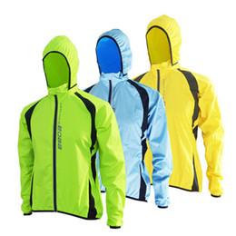 Wholesale Mens Bicycles - Wholesale- 2017 Breathable Windproof Running Jacket Cycling Raincoat Bicycle Rain Coat Bike Mens Women Cycling Windbreaker Jerseys