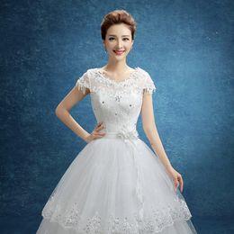 Wholesale Thigh Highs Online - Luxury robe de mariage Top Selling Sweetheart Crystal Wedding Gowns Dresses Online Romantic Bride Dress Vestidos De Novia