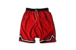 Wholesale Short Men Dragon - 2017new style FOG five classical all-match style OVER SIZE loose Pure color shorts the same style as G-Dragon