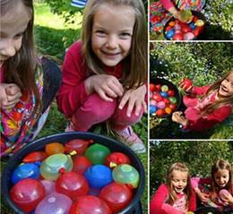 Wholesale Children Beach - Water Balloon Summer Water Balloon Water-filled Balloon Chindren Beach Toys summer beach toys children Water Toys Free Shipping D845 50