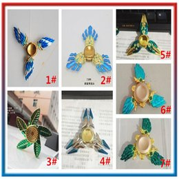 Wholesale Ninja Top - King Of Glory Naruto Ninja Fidget Spinners Metal Bearing Hands Spinner Top Anxiety Stress Relief Focus Finger Decompression Toy 30pcs