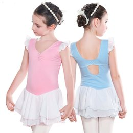 Wholesale Skating Dress Child - Girls Ballet Dress For Children Kids Girl Dancewear Gymnastics Dance Clothing Ballet Costume Dresses Leotard Skate Costume Dance