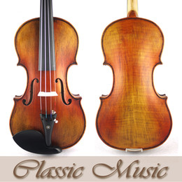 Wholesale Violin Oil Varnish - Wholesale-1715 StradivariusModel Violin No.1462,Siberian Spruce,Oil Varnish,Antique Violin,Advanced Level,Powerful rich tone