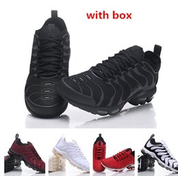 Wholesale Speed Laces - Tn air shoes speed trainer for men wholesale man TN ultra sports shoes 97 running shoes eur 36-46 free shipping
