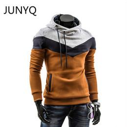 Wholesale Designer Hoodies Wholesale - Wholesale- 2016 New Winter Autumn Designer Hoodies Men Fashion Brand Pullover Sportswear Sweatshirt Men'S Tracksuits