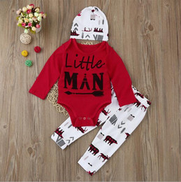 Wholesale American Style Hats For Children - Ins Hot Christmas Long Sleeve Baby Girl Boutique Clothing Sets Casual Children Tracksuits With Hat For Fall A08