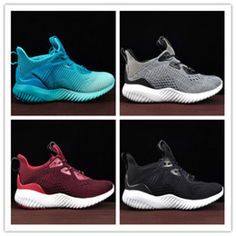 Wholesale Alpha Red - Original 2017 Arrival Top Quality Women Men Alpha Bounce Boost 330 Running Shoes Black Gold Blue Alphabounce comfortable Sport Sneakers