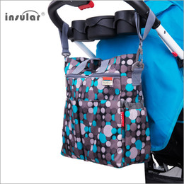 Wholesale Mother Baby Care - Wholesale-Nappy Change Mother Maternity Bag Baby Care Waterproof Mon Backpack for Stroller Organizer Mummy Travel Handbag Baby Nappy Bags