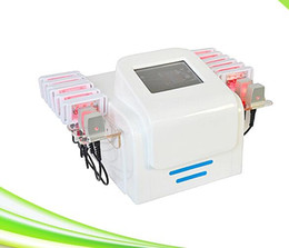 Wholesale Cellulite Reduction Equipment - 16 laser pads 100mw lipo light laser slimming cellulite reduction lipo laser equipment