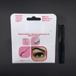 Wholesale Eyelash Adhesive Black - Newest Brand Eye Lash Glue Clear White & black& Transparent Makeup Adhesive Waterproof False Eyelashes Lady makeup tool Hot Selling