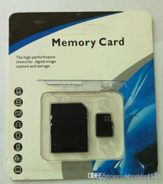 Wholesale Sd Card Blister Packaging - 8GB Class 10 Memory SD Card TF Memory Card with car Free Retail Blister Package 0071