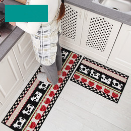 Wholesale Kitchen Rugs Set - 2017 Hotsale 2Pcs Set Kitchen Bath Mats Carpet, 15 Colors Anti Slip Large Bathroom Rug, Modern Style Bathroom Mat For Toilet Alfombras