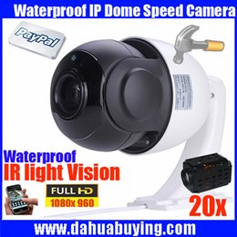 Wholesale Hd Outdoor Security Cameras Ptz - FULL HD 960P 1.3MP high speed PTZ Camera 20x optical zoom Security cctv ip camera support network, with Bracket