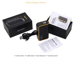 ss dual battery mod Desconto Aspire Archon Box Kit 2017 Novo produto e-cgarettes