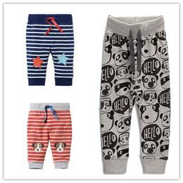 bfc9fe92c3 calças de cachorro Desconto Bebê menino calça Hotsale Casual Calças Chidren  roupas Animal Dos Desenhos Animados
